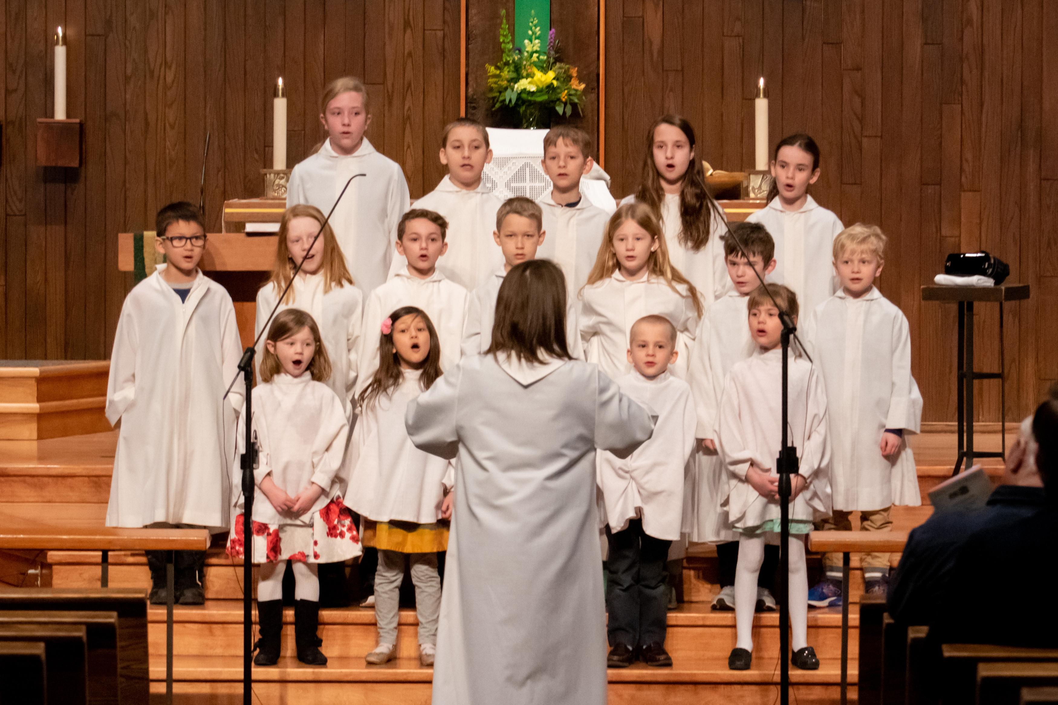 Jubilate, our children's choir